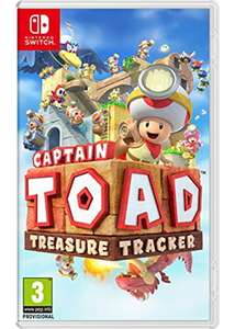 Captain Toad: Treasure Tracker (Nintendo Switch) £28.99 Delivered (Preorder) @ Base