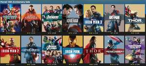 Marvel 10th Anniversary Special - Movies from £6.99 @ Rakuten TV