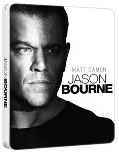 Jason Bourne (Steel Book with UltraViolet Copy) [Blu-ray] £4.50 with code at Zoom