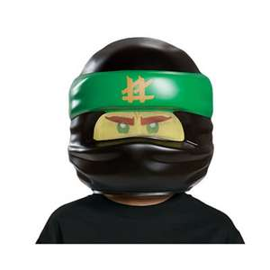 LEGO Ninjago Movie Lloyd & Kai Ninja Masks £3  each + Free C+C w/code @ Debenhams -