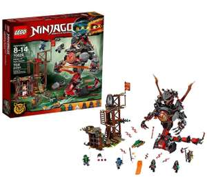Lego Ninjago dawn of iron doom 70626by  £16.99 @ Argos