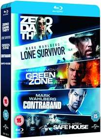 Zero Dark Thirty/Lone Survivor/Green Zone/Contraband/Safe House Blu-ray £8 @ Zoom (£7.20 with code)