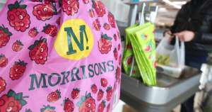Free bag for life with shopping at Morrisons
