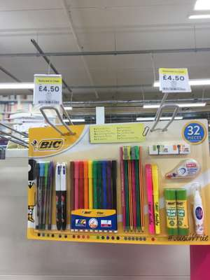 Bic Writing Set 32 Pieces £4.50 instore Tesco orpington