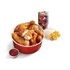 Colonel's Club Offers  23rd April - 20th May: Mighty Bucket for One £4.50 (more in OP) +  Free side for new signups e.g. 2 free Hot Wings @ KFC
