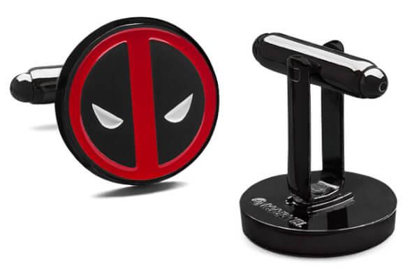 Marvel Deadpool Cufflinks £8.98 - Deadpool 4 item bundle including t-shirt & mug £19.99  @ Zavvi