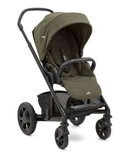 Joie Chrome Dlx - Thyme  + Joie chrome DLX carrycot - thyme ( was £400 now £225 ) @ Mothercare