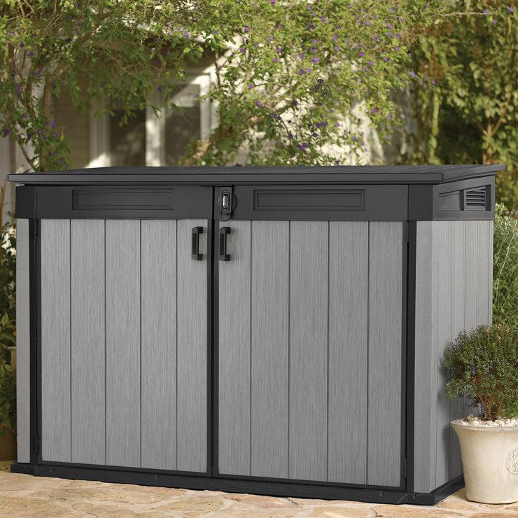 Keter Horizontal Storage Shed H 132.5 x W 190.5 x D 109.3 cm - Costco £263.98