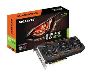 GeForce GTX 1070Ti Gaming 8192MB GDDR5 PCI-Express Graphics Card - £439.99 @ overclockers (£449.89 incl del)