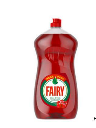Fairy Ultra Clean & Fresh Washing Up Liquid Pomegranate & Honeysuckle - £2 @ ASDA