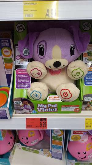 Leapfrog My Pal Violet child's toy - £9.99 @ B&M instore