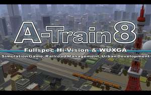 A-Train 8 PC game from Humble bundle £2.99