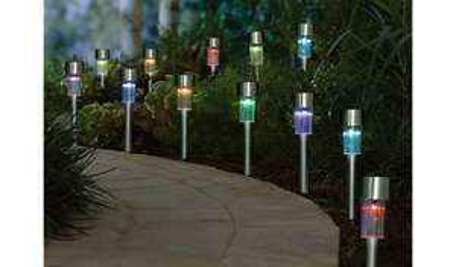 George Home Solar Stick Lights, £0.85 @ ASDA