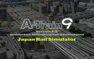 A-Train 9 for PC from Humble bundle Steam Key - £17.99