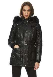 Coat only £5 at F&F Tesco, free click and collect.
