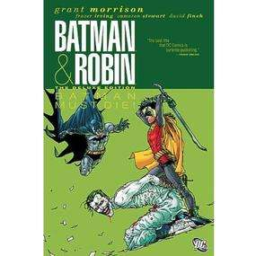 Batman & Robin: Batman Must Die (Deluxe Hardcover - Edition Titan) £6.99 (instore) + £2 (delivery) @ Forbidden Planet