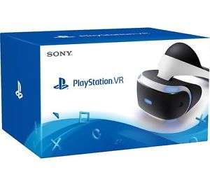New SONY PLAYSTATION 4 VR White & black 360-degree vision 3D audio £186.97 @ currys pc world Ebay
