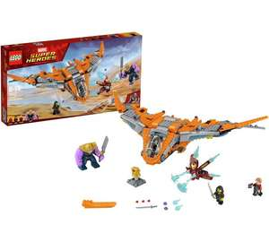 LEGO Marvel Super Heroes Thanos: Ultimate Battle - 76107 £55.99 @argos