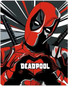 Deadpool 4K Steelbook - was sold out very limited number back in stock £24.99 @ Zavvi