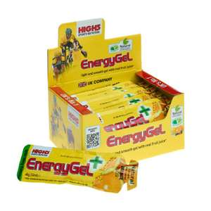 High5 EnergyGel Plus - orange flavour box £8.54 with voucher @ Probikekit