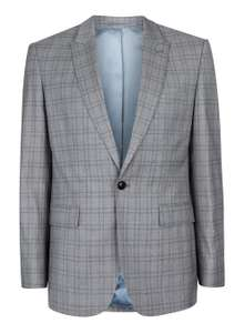 Charlie Casely-Hayford X Light Grey Check Suit Jacket (was £140) - £15 (free c&c) @ TopMan