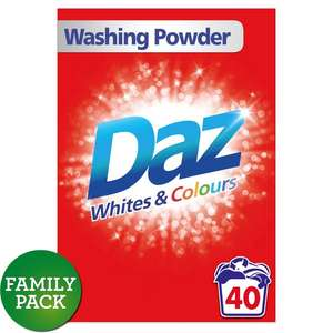 Daz 40 Wash in-store and online £4 @ Morrisons