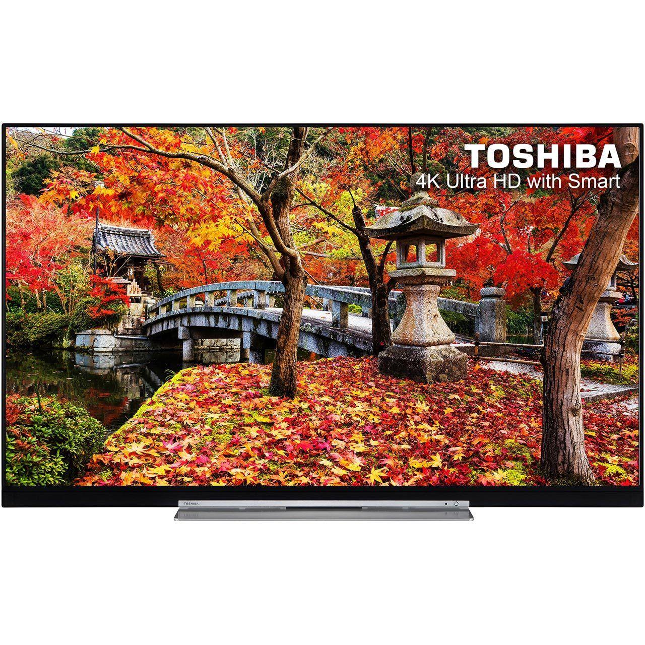 Toshiba 49U7763DB 49 Inch Smart LED TV 4K £299 / Toshiba 55U6663DB 55 Inch Smart LED TV 4K Ultra HD Freeview HD 4 HDMI £379 @ AO/Ebay
