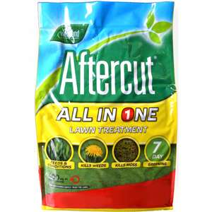 Westland Aftercut All In One lawn weed, feed and moss killer 400m2 £17 @ B&Q instore