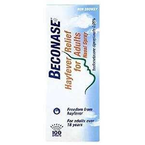 Beconase hayfever nasal spray £3 at Asda online and instore