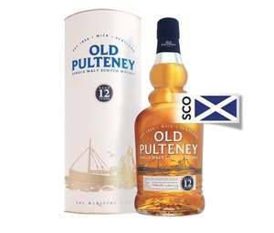 Old Pulteney 12 yr single malt £26 at Waitrose
