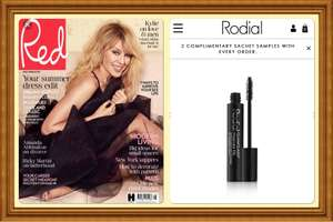 Free Rodial mascara worth £24 with Red magazine only £4.50 (full size)