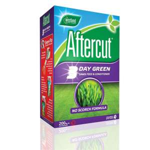 Aftercut 3 Day Green Lawn Feed - 200m2 - £10 at Homebase instore