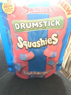 Swizzels drumstick squashies 155g 50p instore at Asda
