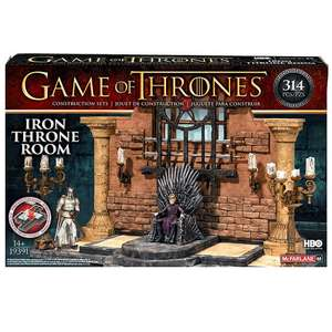 Game Of Thrones Throne Room Construction Set £8.99 with Free delivery @ Zavvi