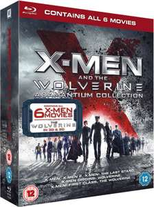 [Blu Ray] X-Men And The Wolverine Adamantium Collection (6 Films) - £9.99 - eBay/TheEntertainmentStore
