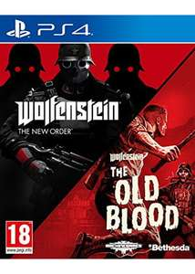 Wolfenstein The New Order and The Old Blood Double Pack £15.85 on ps4 and xbox