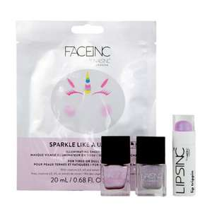Nails Inc.-'Sparkle Like A Unicorn' gift set £13.30 + Free c&c with code SH5X at Debenhams + £5 voucher when you c&c