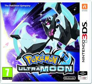 Pokemon Ultra Moon (More In OP) Amazon Prime Now £19.20 *Possible Glitches*