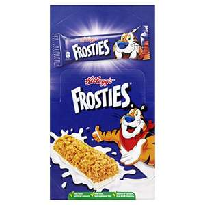 Kellogg's Frosties Cereal Milk Bar, 25 g, (Pack of 25) £4.17 Amazon add on item - minimum 20 pound spend required