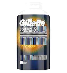 10 pack Gillette Fusion5 Proglide Razor Blades  £13.49 @ boots, free click n collect + plus earn 4pts / £1 spent, (equivalent to 4p / £)