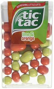 Tic Tac Lime Orange 18 g (Pack of 24)  Prime only £6.75 @ Amazon £9.74 Non Prime