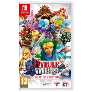Hyrule Warriors: Definitive Edition [Switch] £36.99 @ Smyths (C&C)