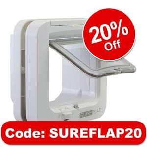 20% off Sureflap Microchip Cat flap £41.59 +TCB - Zooplus