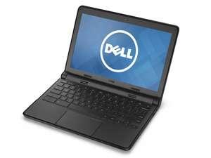 "Dell Chromebook 11 (3120) 11.6"" Celeron N2840 2.16Ghz 16GB HDMI Webcam £79.99. ((£72 after discount) - ITZOO"