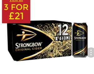 Mix and match 3 packs of beer £21 @ Asda