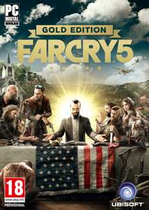 Far Cry 5 Gold Editon #Uplay £55.99 from CD Keys (Apple Pay/Facebook 5% Discount = £53.19)
