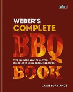 Weber complete BBQ book, 0.99p on kindle.