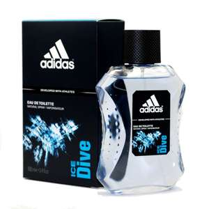 Adidas Ice Dive Eau de Toilette - 100 ml Spray only £2.70 at Amazon [Add-on-Item]