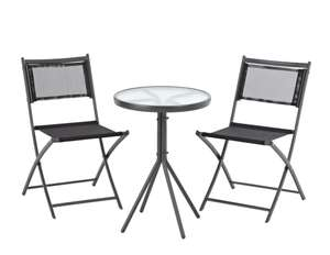 Cuba 3 Piece Bistro Set £32.95 delivered @ George Asda