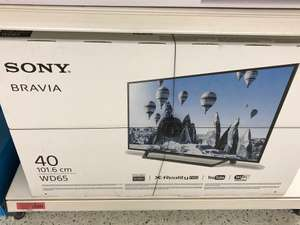 Sony KDL40WE663BU 40 Inch Smart Full HD TV With HDR - reduced to £290 in the sainsburys clearance